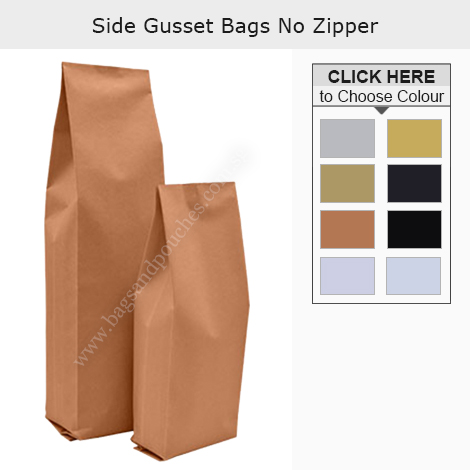 Side Gusset Bag No Zipper