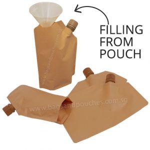 16mm Spout Pouches (Corner Spout / Filling From Pouch)
