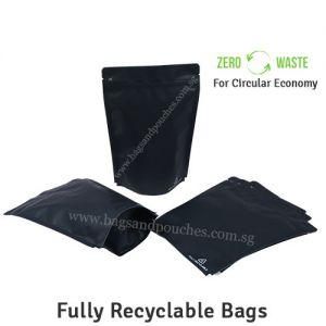 Recyclable Stand Up Pouches With Valve Regular Size