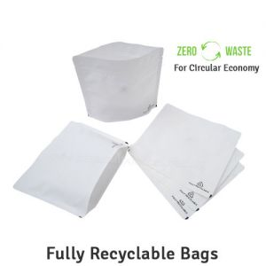 Recyclable Stand Up Pouches With Valve Wider Width Size