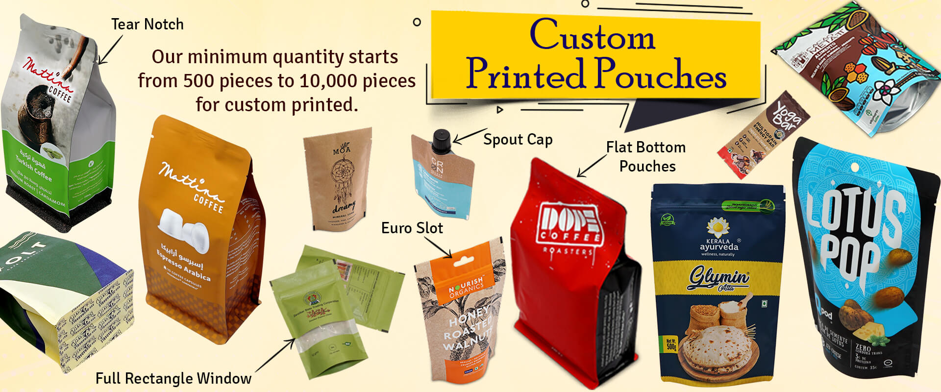 Custom Printed Pouches