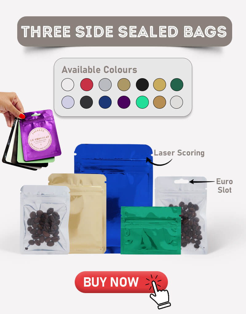 Three Side Seal Bags